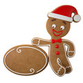 3d Character, Cheerful Gingerbread, Christmas Funny Decoration, Stock Photo - 45759370