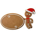 3d Character, Cheerful Gingerbread, Christmas Funny Decoration, Stock Photography - 45759372
