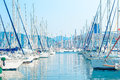 Parking Sailing Yachts At Port Stock Photos - 45760063