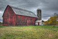 Old Red Barn Royalty Free Stock Photos - 45760178