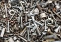 Hardware - Bolts, Nuts, Washers, Screws Royalty Free Stock Photos - 45761128