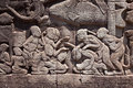Fresco Angkor Wat/ Angkor Thom. The Ancient Ruins Of A Historic Stock Image - 45765001