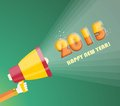 Happy New Year 2015  Greeting Card Design Stock Images - 45786854