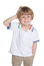 Happy Little Boy Royalty Free Stock Photo - 45790775