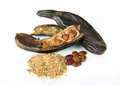 Carob Pods Stock Photography - 45794602