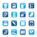 Cooking Tools Icons Royalty Free Stock Photo - 45795045