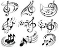 Music Notes Stock Photography - 45798062