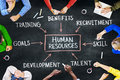 Group Of People And Human Resources Concepts Royalty Free Stock Image - 45807156