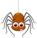 Cute Spider Cartoon Stock Images - 45809644