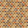 Illustration  Of An Colorful Bricks Wall Background Royalty Free Stock Images - 45810619