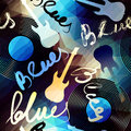 Blues Music Royalty Free Stock Image - 45812176