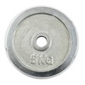 Metal Barbell Plate Isolated Royalty Free Stock Photography - 45812397