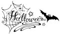 Halloween, Spider Web Royalty Free Stock Image - 45815946