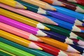 Bright Colored Pencils Royalty Free Stock Photo - 45817765