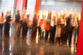 Row Of People Standing Royalty Free Stock Photos - 45829898