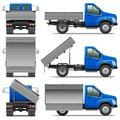 Vector Lorry Icons Set 4 Stock Images - 45835984