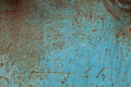 Texture Of Old Blue Metal Royalty Free Stock Photography - 45845467
