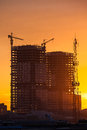 Building Construction Site Royalty Free Stock Image - 45856346
