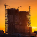 Building Construction Site Royalty Free Stock Photography - 45856437