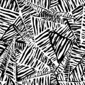 Seamless Pattern Background, With Strokes, Splashes, Triangles A Stock Images - 45863474