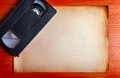 Video Tape On The Board Royalty Free Stock Photos - 45865578