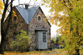 Old Stone Cottage In The Woods Stock Photos - 45865843