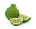 Kaffir Lime Or Bergamot Fruit Stock Photography - 45872462