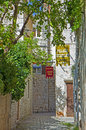 Croatia, Trogir - Old Town Street With Hotel Signs Royalty Free Stock Images - 45886739