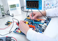 Tech Tests Electronic Equipment Stock Image - 45890351