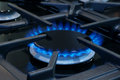 Gas Cooker Or Stove Royalty Free Stock Photography - 45909097
