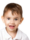 Portrait Of A Little Boy Royalty Free Stock Image - 45909826