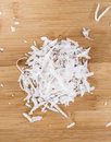 Portion Of Grated Coconut Stock Photography - 45910772