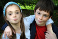 Siblings Royalty Free Stock Photography - 45935927