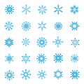 008-Christmas Snow Flakes 004 Royalty Free Stock Photography - 45944467