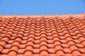Red Roof Texture Tile Royalty Free Stock Images - 45945739