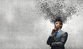 Thoughts In Head Royalty Free Stock Photos - 45950158