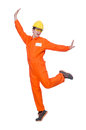 Industrial Worker Isolated Royalty Free Stock Images - 45967499