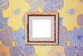 Wooden Frame On The Wall Stock Photo - 45992170