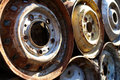Old Rims Royalty Free Stock Image - 4608836