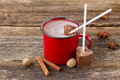 Cup Of Hot Chocolate Stock Photo - 46009990