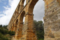 Roman Aqueduct Stock Photos - 46011553