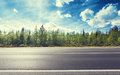 Road In North Forest Stock Photography - 46013392