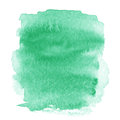 Bright Green  Spot, Watercolor Abstract Hand Painted Textured Ba Stock Photo - 46022340