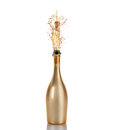 Bottle Of Champagne Stock Photos - 46024123