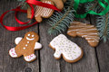 Homemade Gingerbread Cookies Royalty Free Stock Photo - 46041965