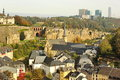 Sunny Luxembourg: Old And New Royalty Free Stock Image - 46046646