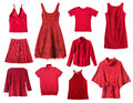 Red Clothes Stock Photo - 46048890