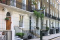 Townshouses In London Stock Image - 46052121