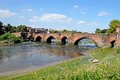 Old Dee Bridge, Chester. Royalty Free Stock Photo - 46052915