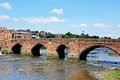 Old Dee Bridge, Chester. Royalty Free Stock Images - 46053149